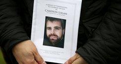 Cameron Logan's funeral