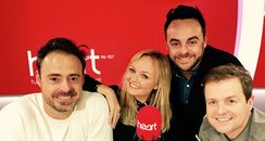 Ant & Dec With Jamie And Emma