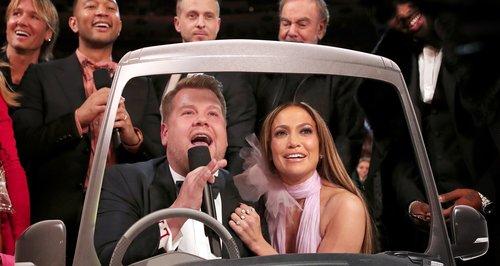 James Corden and JLo Carpool Grammys