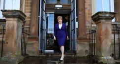 First Minister Nicola Sturgeon Domestic abuse