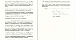 FM letter to PM