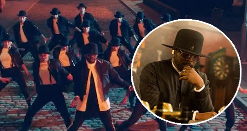 will.i.am music video coronation street canvas