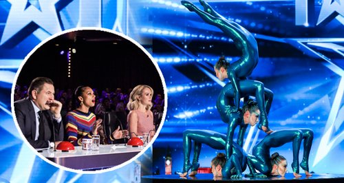 Britain's Got Talent Contortionist Canvas