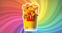 McDonald's Curly Fries Canvas