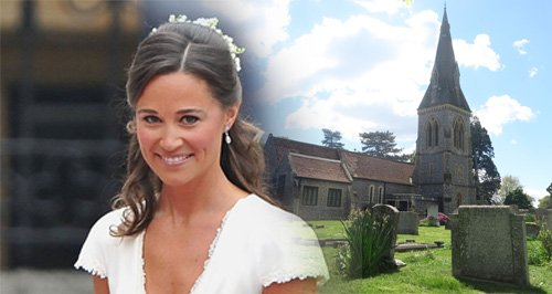 Pippa Middleton Wedding Canvas