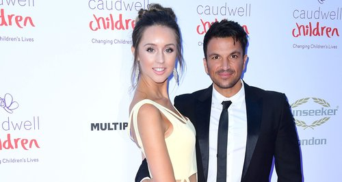 Emily Macdonagh and Peter Andre attend the Caudwel