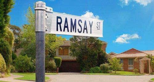 Neighbours Ramsey Street Sign