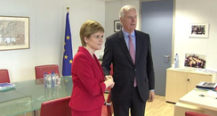 Nicola Sturgeon EU Talks