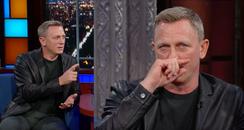 Daniel Craig The Late Show 2017